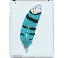 Jay's Wing feather iPad Case/Skin