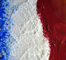 The flag of France  by JoAnnFineArt