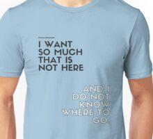 Charles Bukowski quote Unisex T-Shirt