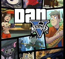 Dan Vs GTA V by LizCabooz