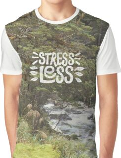 Stress Less Graphic T-Shirt