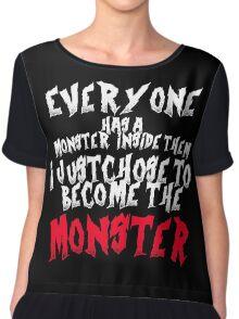 Monster Chiffon Top