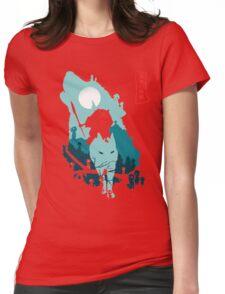 Princess Mononoke Womens Fitted T-Shirt