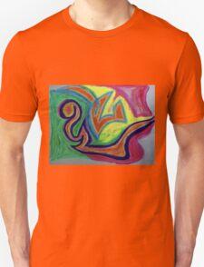 Oiled Yin and Yang Unisex T-Shirt