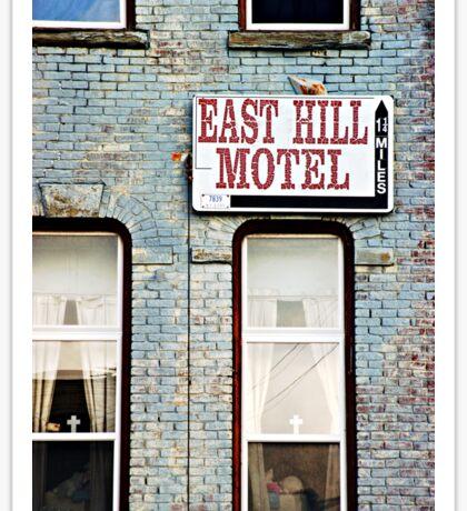 The Missing Motel Sticker
