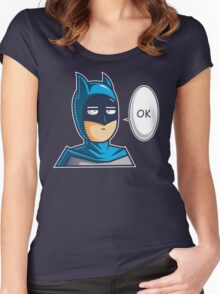 One Punch Vigilante Women's Fitted Scoop T-Shirt