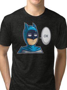 One Punch Vigilante Tri-blend T-Shirt