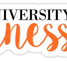 The University of Tennessee Sticker