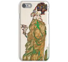 Egon Schiele - Devotion (1913)  iPhone Case/Skin