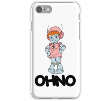 Mighty Orbts - OHNO - Black Font iPhone Case/Skin