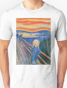 Edvard Munch - The Scream Pastel Unisex T-Shirt