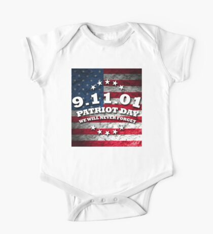 US PATRIOT DAY One Piece - Short Sleeve