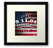 US PATRIOT DAY Framed Print