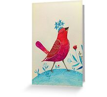 Starry hat Greeting Card