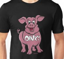 OINK! FRIENDS NOT FOOD! Unisex T-Shirt