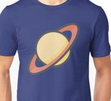 Cartoon Saturn Icon Unisex T-Shirt