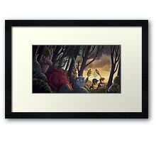 How To Catch A Monster Framed Print