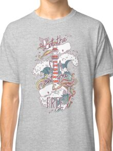 Whales and Waves Classic T-Shirt