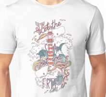 Whales and Waves Unisex T-Shirt