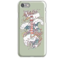 Whales and Waves iPhone Case/Skin