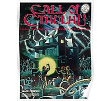 Call of Cthulhu 1st Edition Cover Poster