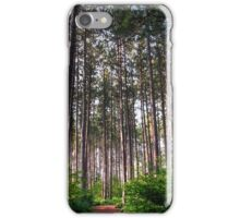 Black Forest Pines iPhone Case/Skin