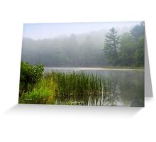Tranquil Moments Landscape Greeting Card