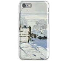 Claude Monet - The Magpie  iPhone Case/Skin