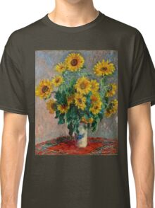 Claude Monet - Sunflowers  Classic T-Shirt