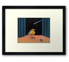 Shooting Star is what you are Framed Print
