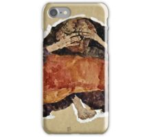 Egon Schiele -Troubled Woman  iPhone Case/Skin
