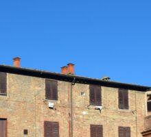 Buildings from Siena Sticker