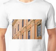 Classical building facade with decorative elements Unisex T-Shirt