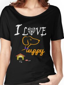 Funny Dog T-Shirt Women's Relaxed Fit T-Shirt