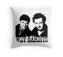 Home Alone Wet Bandits Throw Pillow