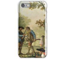 Goya - El Pescador De Cana iPhone Case/Skin