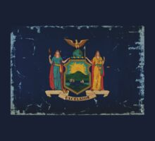 New York State Flag VINTAGE by USAswagg2