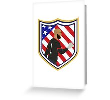 Tim Howard Crest Greeting Card
