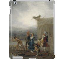 Goya - Comicos Ambulantes iPad Case/Skin