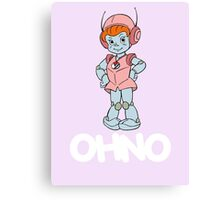 Mighty Orbts - OHNO - White Font Canvas Print