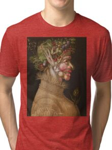 Giuseppe Arcimboldo - The Summer - From The Four Seasons 1563 Tri-blend T-Shirt