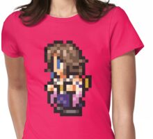 -FINAL FANTASY- Yuna Pixel Womens Fitted T-Shirt