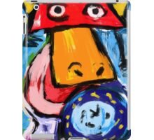 King duck is rising iPad Case/Skin