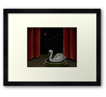 Straight on till Morning Framed Print