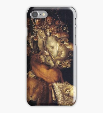 Giuseppe Arcimboldo - The Earth - From Four Elements 1566  iPhone Case/Skin