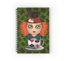 The MadHatter Spiral Notebook
