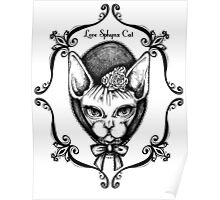 For Sphynx Lovers Poster