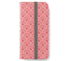Japanese Scales - Red iPhone Wallet/Case/Skin