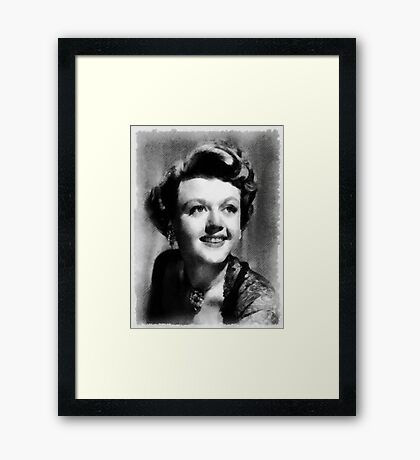 Angela Lansbury Hollywood Actress Framed Print