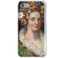 Giuseppe Arcimboldo - Flora 1589 iPhone Case/Skin